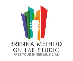 Brenna Method Guitar Studio stacked logo